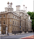 TQ3282 : Honorary Artillery Company barracks on City Road, London EC1 by Andy F