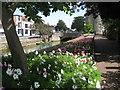 TR1458 : Westgate Garden Flower Bed, towards Westgate Towers by David Anstiss