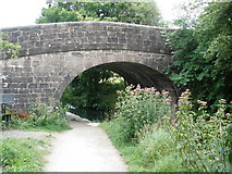 SK3056 : Bridge, on Cromford Canal by Roger Cornfoot