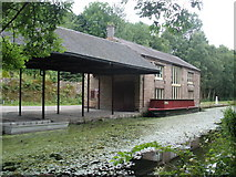SK3155 : Warehouse, on Cromford Canal by Roger Cornfoot