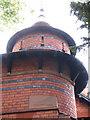 SK5641 : Norris Ladies' Home: corner turret by John Sutton