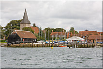 SU8003 : Bosham Harbour from Bosham Channel by Peter Facey