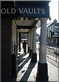 SJ0566 : The Old Vaults, High Street, Denbigh by Roger Cornfoot