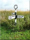 SU8700 : West Sussex finger post by Jonathan Billinger