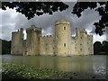 TQ7825 : Bodiam Castle by Chris Allen