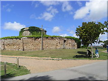 TQ9418 : Martello tower, Rye Harbour by Chris Allen