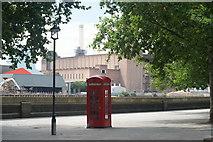 TQ2977 : Telephone Box, Grosvenor Road, London (2) by Peter Trimming