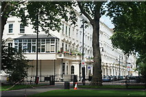 TQ2977 : Looking Across Pimlico Gardens, London by Peter Trimming