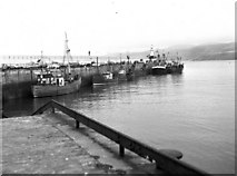 SC2484 : Fishing boats at Peel, Isle of Man by Dr Neil Clifton