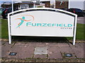 TL2401 : The Furzefield Centre Sign by Adrian Cable