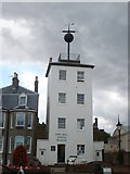 TR3752 : The Time Ball Tower Museum, Prince of Wales Terrace, Deal by pam fray