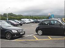 SD5052 : Car park at Lancaster Services (north bound) by James Denham