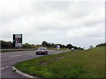 SN0202 : A477 Near The A4075 Junction by Peter Whatley