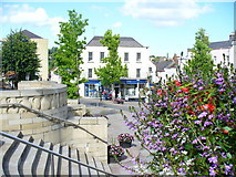 ST5393 : Central Plaza in Chepstow by Colin Smith