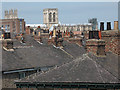 SE5951 : Rooftops of York by Stephen Craven