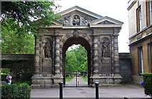 SP5206 : The entrance to the Botanical Garden by Steve Daniels