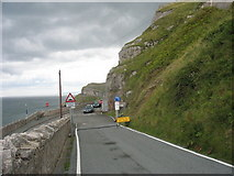 SH7783 : The junction of St Tudno's Road and Marine Drive by Eric Jones