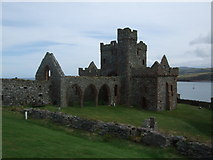 SC2484 : St Germans Cathedral - Peel Castle by Richard Hoare