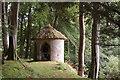 NT1756 : Summerhouse overlooking N Esk by Jim Barton