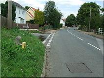 TM2281 : Old Milepost by Keith Evans