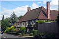 TQ9557 : Wealden Hall House on The Street, Newnham, Kent by Oast House Archive