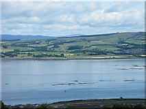 NS3174 : Cardross and the Clyde from Greenock by Thomas Nugent