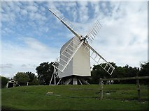 TL4138 : Chishill windmill by Robert Edwards