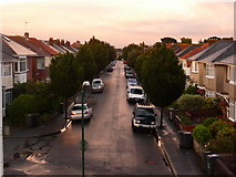 SZ0894 : Winton: Eldon Road by Chris Downer