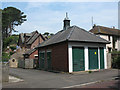 NU2410 : Electricity sub-station, Alnmouth by Stephen Craven