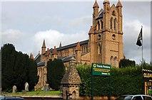 SO1091 : Church of St David, Newtown by Trevor Harris