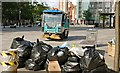 J3474 : Mechanical street sweeper, Belfast by Albert Bridge