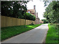 TG3700 : Hardley Street past Avenue Farm by Evelyn Simak
