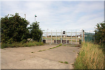 TL6876 : Disused entrance to RAF Mildenhall by Bob Jones