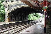 SO7845 : Three bridges over the railway, Malvern by Bob Embleton