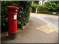 SZ0691 : Branksome: postbox № BH13 50, Wilderton Road by Chris Downer