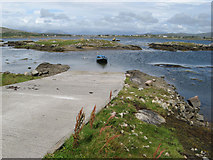 L7630 : Slipway and Ard Bay by Jonathan Wilkins