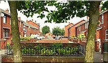 J3574 : Glenallen Street, Belfast by Albert Bridge