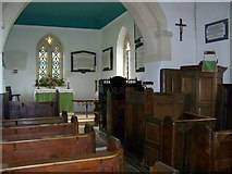 SU1062 : Interior, The Church of St Mary, Alton Barnes by Maigheach-gheal