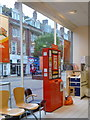 SZ1191 : Boscombe: postbox inside Sainsbury's by Chris Downer