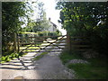 SE8960 : Entrance to Corner House Farm, Fimber by Dr Patty McAlpin