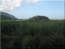SH6214 : Rocky island in the saltmarsh at Morfa Mawddach by Rudi Winter