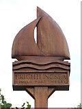 TM0818 : Brightlingsea Village Sign by Keith Evans
