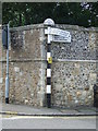 TM1215 : Old Finger Post by Keith Evans