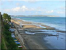SZ5881 : Shanklin Beach by John Webber