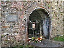 NN8666 : Grave of John Graham of Claverhouse, Viscount Dundee by ronnie leask