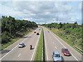 SJ4072 : M56 Motorway by David Quinn