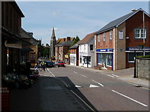 ST8026 : Gillingham: High Street by Chris Downer