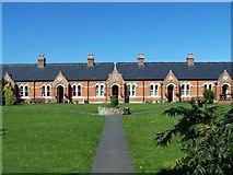 ST3050 : Ellen's Cottages, Burnham-On-Sea by Geoff Pick