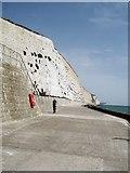 TQ4100 : Peacehaven Undercliff Walk by Paul Gillett