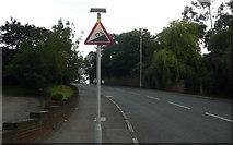TQ3472 : Sydenham Hill - Steep Hill 12% by Adam Morse